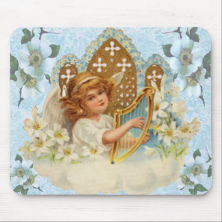 Angel In The Cloud Mouse Pad