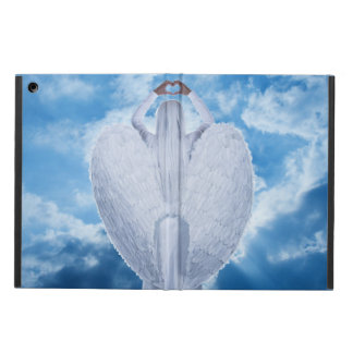 Angel in the clouds iPad air cover
