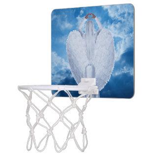Angel in the clouds mini basketball hoop