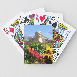Angel In the Garden Poker Deck