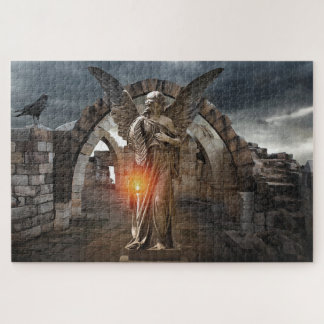Angel in the Ruins Jigsaw Puzzle