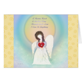 Angel Inspirational Blank Note Cards