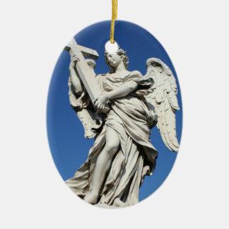 angel IV Ceramic Oval Decoration