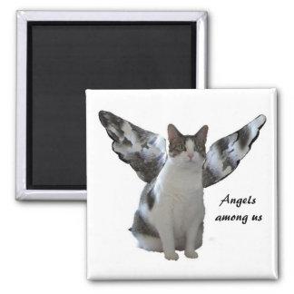 Angel Kitty Magnet
