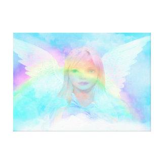 Angel Light Canvas Print