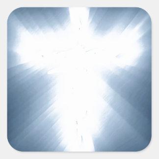 Angel Ligt Square Sticker