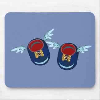 Angel little shoes mouse pad