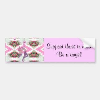 Angel Love_ Bumper Sticker