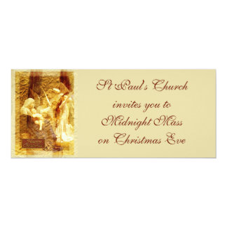 Angel Love Christmas 10 Cm X 24 Cm Invitation Card