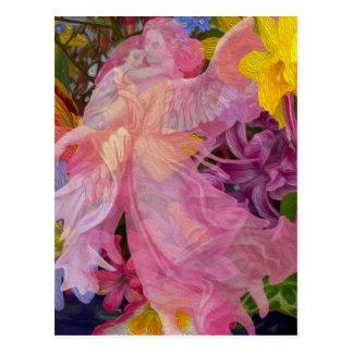 Angel Love Postcard
