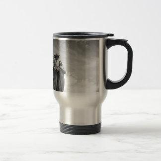 Angel love travel mug