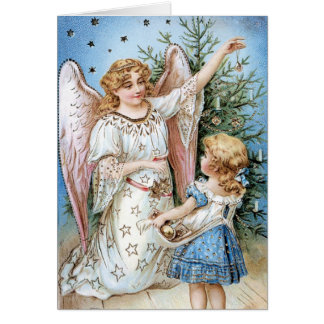Angel Magic Christmas Card