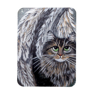 Angel Maine Coon Cat Magnet