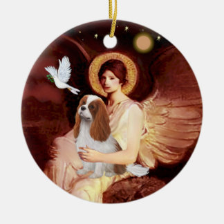 Angel & Mandolin - Blenheim Cavalier #2 Ceramic Ornament