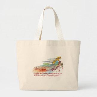 Angel Mercy Love Large Tote Bag