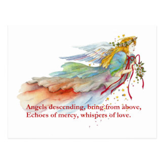 Angel Mercy Love Postcard