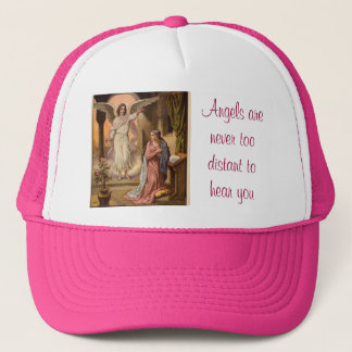angel message hat