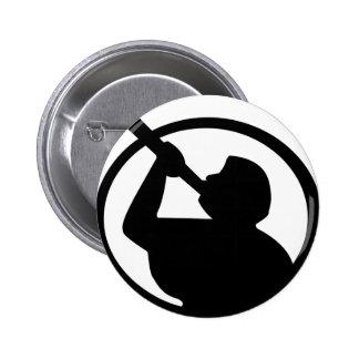 Angel Moroni 6 Cm Round Badge