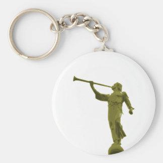 Angel MORONI Basic Round Button Key Ring