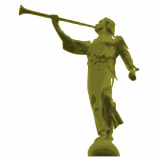 ANGEL MORONI STANDING PHOTO SCULPTURE