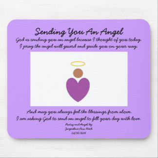 Angel Mouse Pad