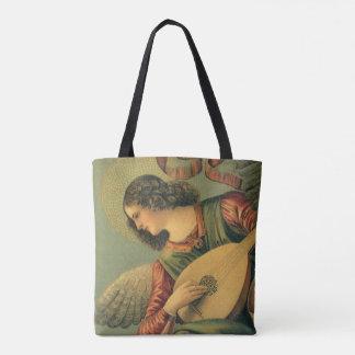 Angel Musician, Melozzo da Forli, Renaissance Art Tote Bag