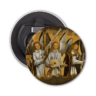 Angel Musicians c1480 Bottle Opener