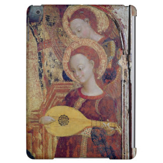 Angel musicians from painting of Virgin and Child iPad Air Cases