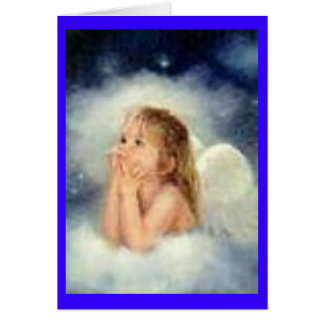 angel note card