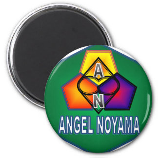 ANGEL NOYAMA.png Refrigerator Magnet