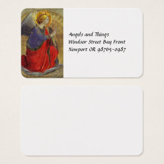 Angel of Annunciation by Fra Angelico Business Card
