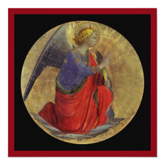 Angel of Annunciation by Fra Angelico Card