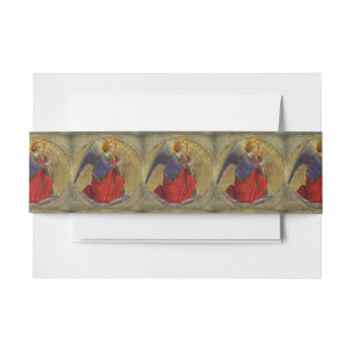 Angel of Annunciation by Fra Angelico Invitation Belly Band