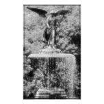 Angel of Central Park NYC Print