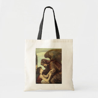 Angel of Death (detail) by Evelyn De Morgan Canvas Bags