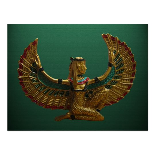 Angel of Egypt Postcard