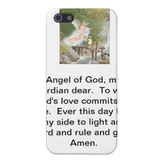 Angel of God my guardian dear! Case For iPhone 5/5S