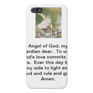 Angel of God my guardian dear! iPhone 5/5S Cover