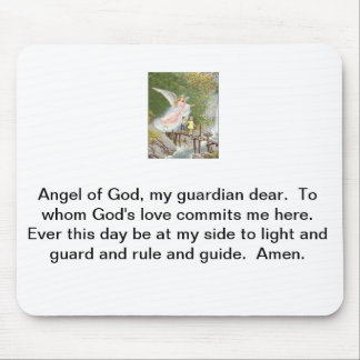 Angel of God my guardian dear! Mouse Pad