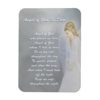 Angel of God So Dear Poem Magnet