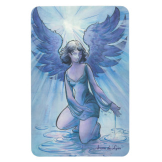 Angel of Grace Rectangular Photo Magnet