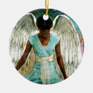 Angel of Gratitude Christmas Tree Ornament