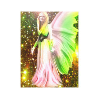 Angel of Healing Canvas Print