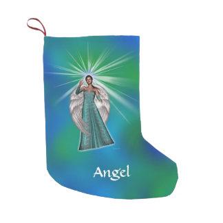 Angel of Light Small Christmas Stocking