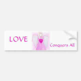 Angel Of Love Bumper Sticker