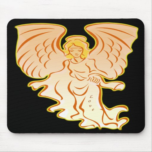 Angel Of Love Mouse Pad