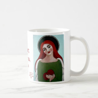 Angel of Love Basic White Mug