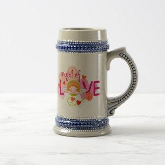 Angel Of Love Coffee Mugs