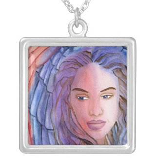 Angel Of Mons Silver Plated Necklace