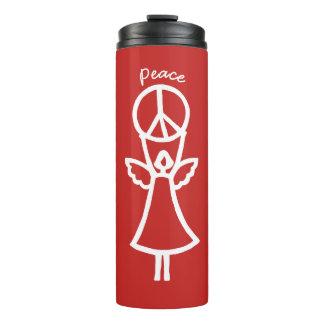 Angel of Peace Choose Color Thermal Tumbler